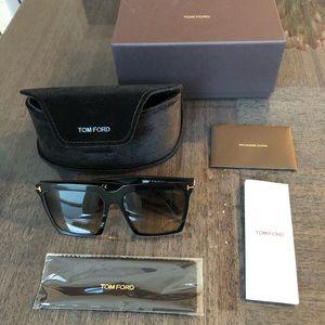 Tom Ford Sabrina 58mm square sunglasses